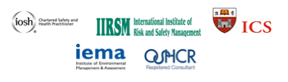 Registered with OSHCR and iosh